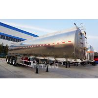 China TITAN 35-40cbm aluminum box propane oil tanker truck trailer for sale on sale