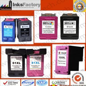 China HP 122xl/HP 60xl/HP 901/HP 21xl/HP 74xl Ink Cartridges on sale