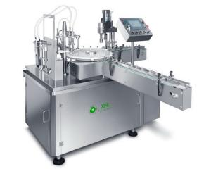 China XHL-JFYG 2400BPH Automatic Essential Balm and Medicated Oil Filling Production line on sale
