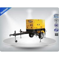 Quality Rental Trailer Genset 23.3:1 Compression Ratio 1500 R / Min Engine Speed wholesale