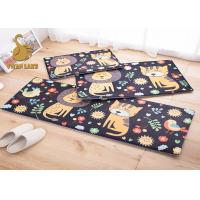 Quality Breathable 100% Polyester Indoor Floor Carpet / Childrens Area Rugs wholesale