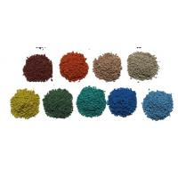 Quality UV Resistant Coloured Rubber Crumb / Sound Insulation EPDM Granules Flooring wholesale