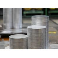 Quality 1.0mm 6082 T6 Aluminum Sheet Circle , Cooking Pots Hard Aluminum Round Disc wholesale