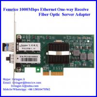 Quality 1000Mbps Ethernet PCI Express x4 Bus Interface Single Receive Port Server Network Adapter 1G2PF571-SFP-RX wholesale