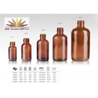 Cheap Trustworthy China Supplier Amber Glass Bottle For Amber for sale