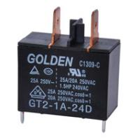 Quality Protection 9V 12V 24V 48V Relay , 2 Pin 25A High Power Latching Power Relay wholesale