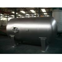 Quality Stationary Horizontal Nitrogen Stainless Steel Tanks And Pressure Vessels wholesale