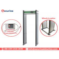 Quality Walk Through Archways Metal Detectors High Speed Passing With Aluminum Head Box wholesale