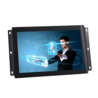 China Open Frame IP65 DVI VGA Embedded LCD Monitor 1280x800 on sale