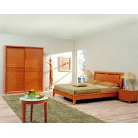 Cheap Classic Single bed design wooden bedroom furniture by Shenzhen factory for Residential and apartment project use for sale