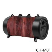 Quality CH-M01 medium barrel with flashlight bluetooth speaker  bluetooth music box   bluetooth smart speaker wholesale