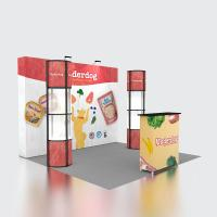 China Reusable Portable Fabric Pop Up Display Stands Fairing For Trade Show on sale