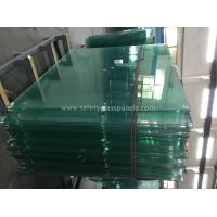 Buy cheap 8mm Thick Heat Treating Tempered Safety Glass Window And Door product