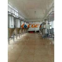 Quality 5000L Large Scale Beer Brewing Equipment Vertical Type Polished Surface wholesale