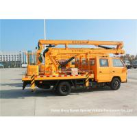 Quality JMC 14-16m 4x2 Double Cabin Aerial Platform Truck For High Operation Working wholesale
