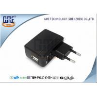 Quality Black AC DC Universal Power Adapter EU Type 90VAC - 264VAC Voltage wholesale