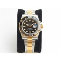 Buy cheap Rolex Submariner 116613 Two Tone YG/SS Ceramic Bezel Black Dail VRF Asia 2836 - from wholesalers