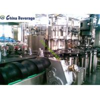China Soft Carbonated Drink Filling Machine Automatic Glass Bottle Rotary Type on sale