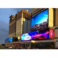 Quality High Contrast P6 Outdoor Led Screen , Roadside Led Display 192*160 Pixels wholesale