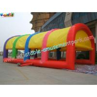 China Waterproof Durable Inflatable Party Tent , Colorful Outdoor Inflatable Wedding Party Tent on sale