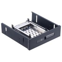 China Unestech 2.5in optical drive SATA enclosure 2.5 hard disk case tray hdd docking station external hd 2TB hdd mobile rack on sale