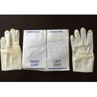 China Powder Free Disposable Surgical Gloves Sterile Latex High Tensile Strength on sale