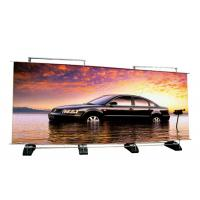 Quality Custom Double Sided Retractable Banner Stand , Outdoor A Frame Roll Up Banner Stand wholesale