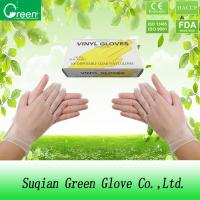 Quality Clear Vinyl Examination Food Grade Gloves For Fast Food Services Powdered wholesale