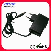 Quality EU plug 9v AC DC Power Adapter 1600ma / 2000mA Short Circuit Protection wholesale
