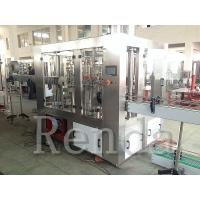 Quality 220V Full Automatic Fruit Juice Bottling Equipment Beverage Filling Production Line wholesale
