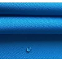 China Polyester 300D solution dyed oxford fabric waterproof acrylic coating uv protection for awning, tent, covers on sale