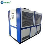 Quality 15Ton Brewery Glycol Cooling Scroll Compressor Air Cooled Glycol Chiller 40hp wholesale