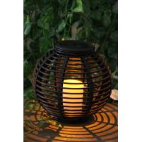 Quality Garden Rattan Solar Lights wholesale