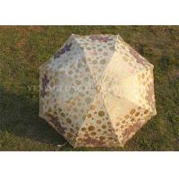 Quality Customized Windproof Foldable Umbrella , Ladies Boutique Lace Sun Umbrella For Rain wholesale
