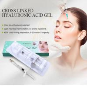 Skin beauty injectable liquid HA dermal filler price hyaluronic acid Cross-linked Hyaluronic Acid For Skin Dermal Filler