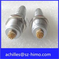 Quality IP68 lemo connector 2 3 4 5 6 7 8 9 10 12 pin circular metal connector with cable wiring harness wholesale
