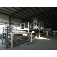 Quality EPS Cement Powder And Mgo Powder Sandwich Panel Machine , Wall Panel Production Line wholesale