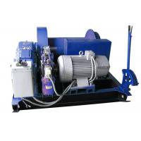 Quality Electric Mine Machine With Grooved Sleeve  , Windlass Machine With Winch Controller wholesale