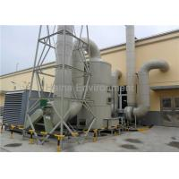 Quality PP Material Industrial Air Scrubber Acid Fog Clean Tower For Emissions Treatment for sale