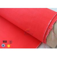Cheap 0.35mm Acrylic Coated Fiberglass Fabric Fire Blanket For Industrial Protection for sale