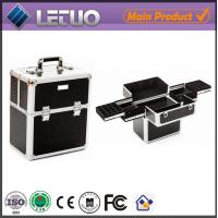 Quality LT-MC323 nail storage display case metal case for makeup for nail art wholesale
