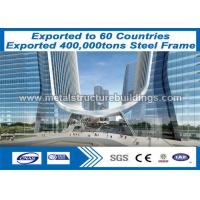 Buy cheap Economic Design Steel Frame Buildings with Professional Non - Destructive Testing from wholesalers