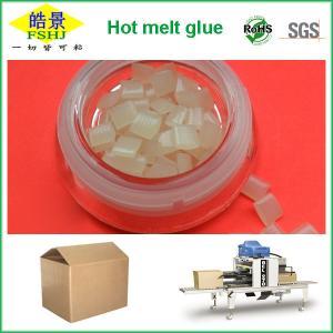 Quality SGS White Granule Hot Melt Polypropylene Glue Adhesive For Carton Sealing wholesale