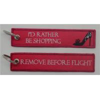 China I'd Rather Be Shopping Remove Before Fligt Key Tag/Bag Tag on sale