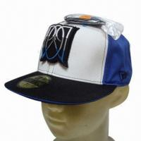 Quality Flat Peak Cap, Customized Designs are Accepted wholesale