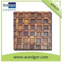 Quality Antique wood wall mosaic tile, wall panel mosaic tiles wholesale