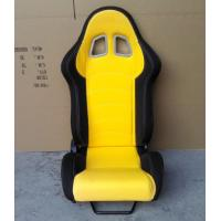 Quality JBR1018 fabric Sport Racing Seats With Adjuster / Slider Car Seats wholesale