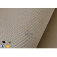 Quality High Density High Silica Fabric Brown 1200G 1.3MM Welding Heat Insulation Cloth wholesale