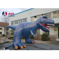 Cheap 6M Party Decoration Inflatable Cartoon Characters Dinosaur Costume For Advertising for sale