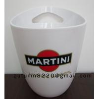 Quality Round plastic clear ice bucket wholesale